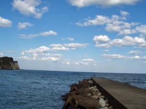 千葉県いすみ市 釣り人 海岸