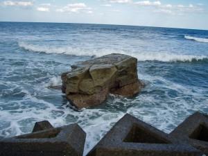 千葉県いすみ市 岩 海岸