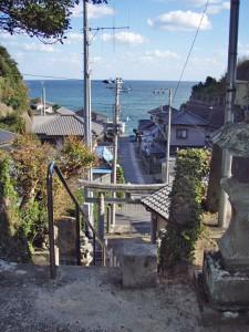 千葉県いすみ市 飯縄神社からの眺め