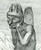グレイルクエスト ドラゴンファンタジー 幻し城の怪迷路 花崗岩の悪魔の巨大な像
