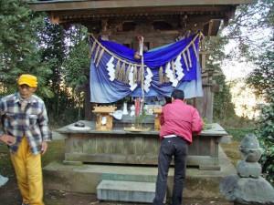 印旛沼 猿田彦神社