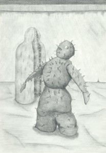 ドラキュラ城の血闘 サボテン怪物